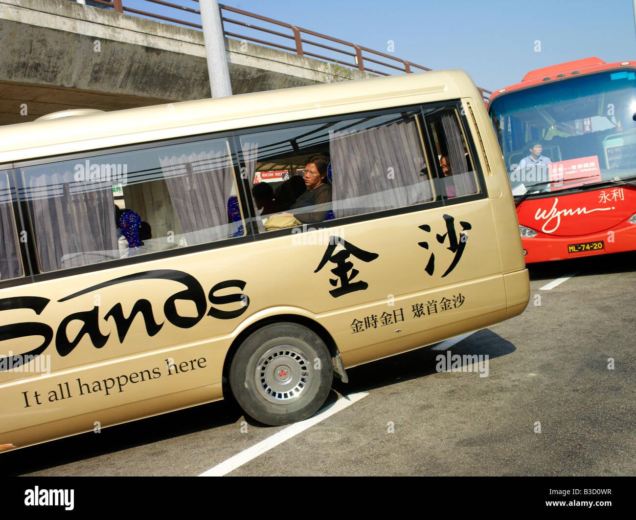 casino shuttle buses