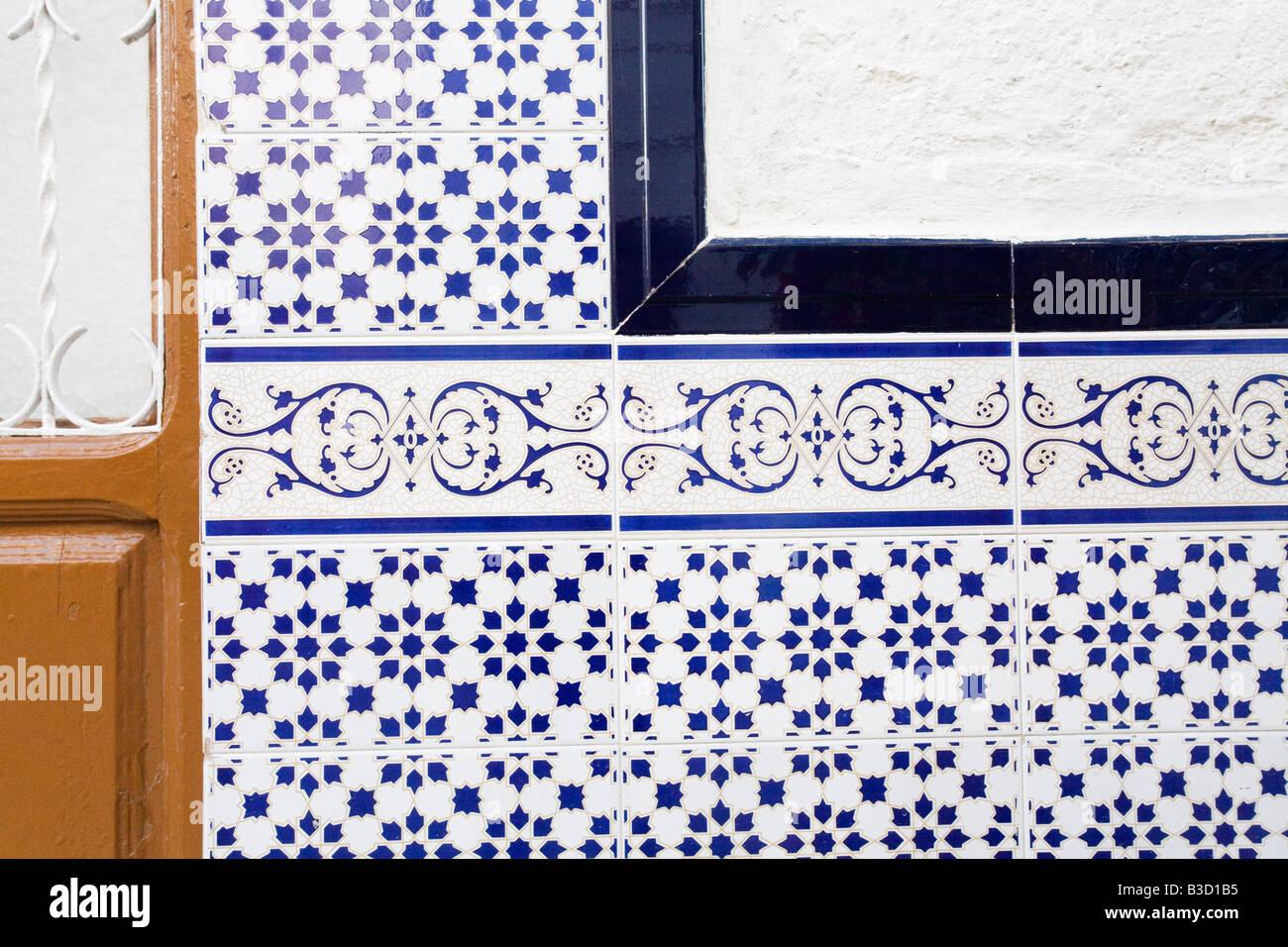 Wall Tiles - Stock Image