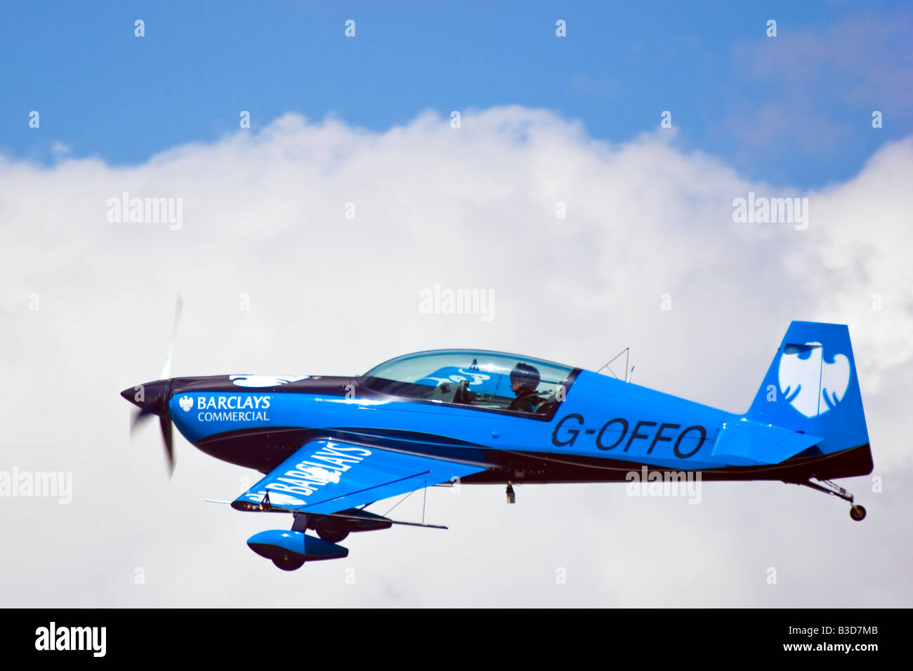 The Blades Aerobatic Team at the Wings and wheels display at Dunsfold Surrey UK 2008 - Stock Image