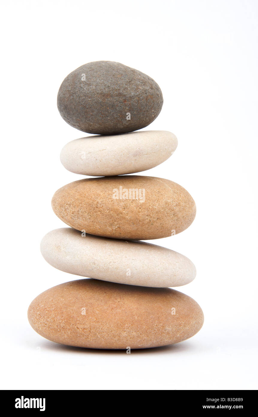 Pile of pebbles - Stock Image