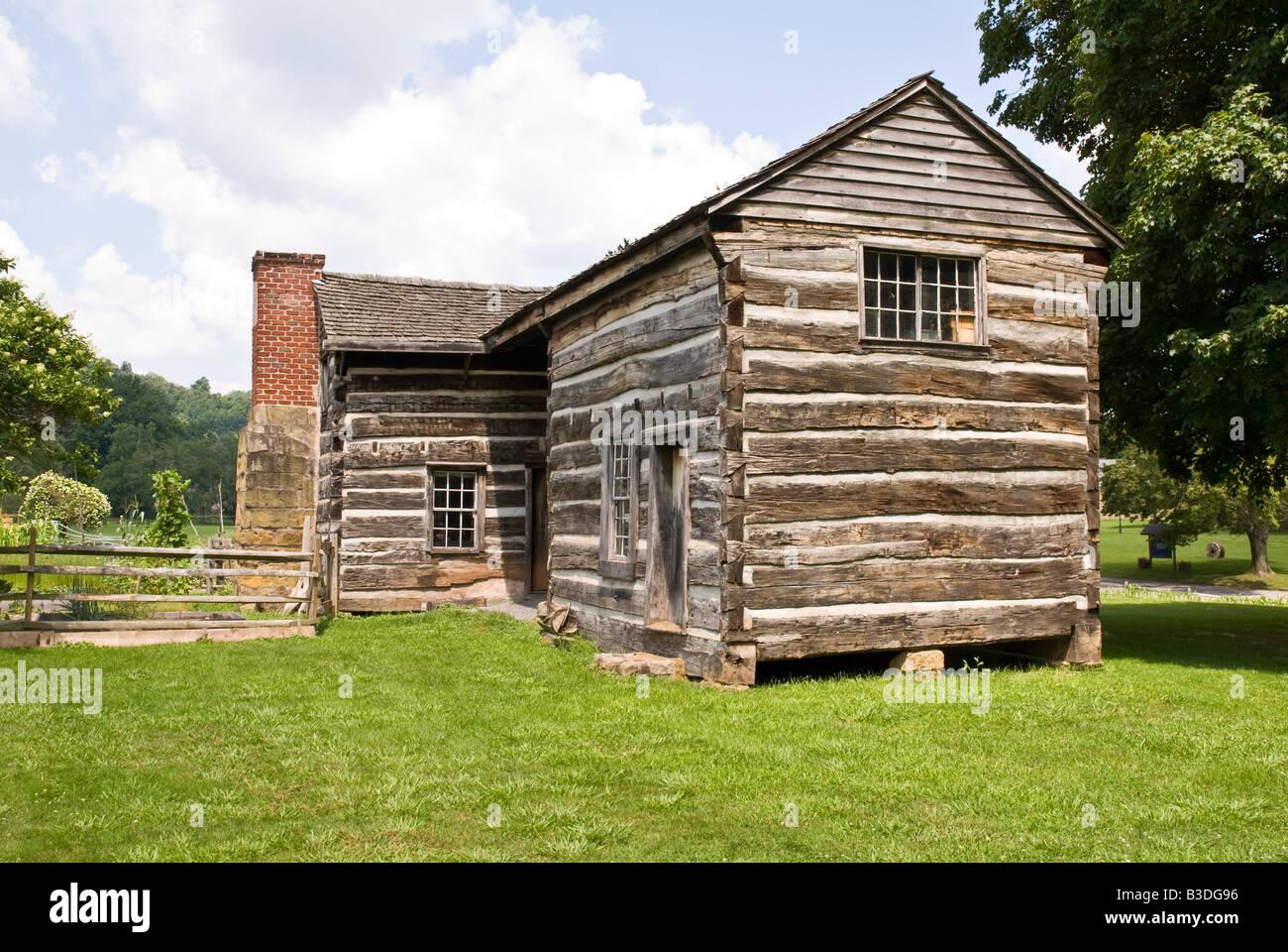 Mary Conrad Cabin Jackson Mill Historic Area Weston West Virginia
