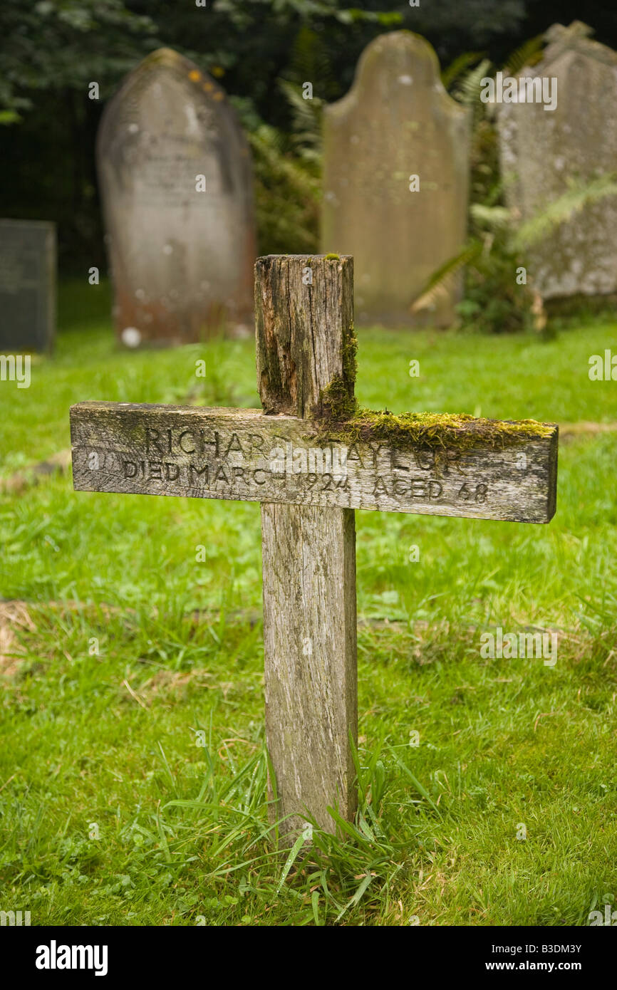 Wooden Grave Marker Stock Photos Wooden Grave Marker Stock Images