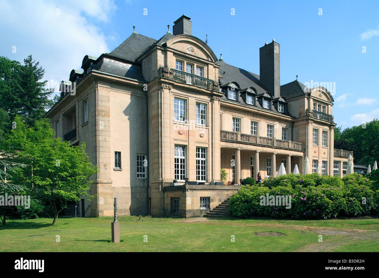 Route Der Industriekultur, Haus Kuechen In Muelheim Broich, Dr. Gerhard  Kuechen,