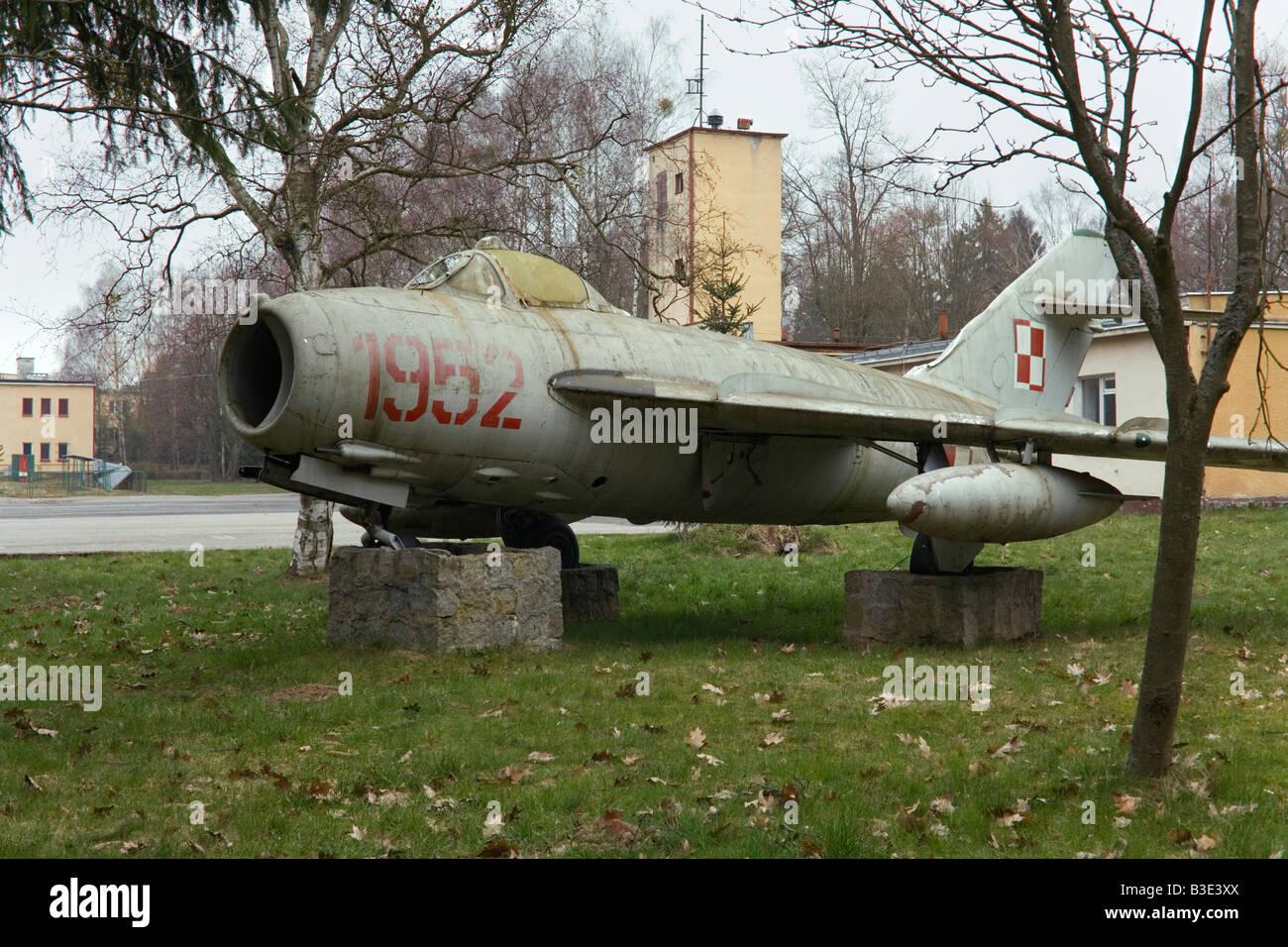 Ex-Soviet and Polish military base in Redzikowo, Poland where the U.S. wants to base 10 interceptor missiles. - Stock Image
