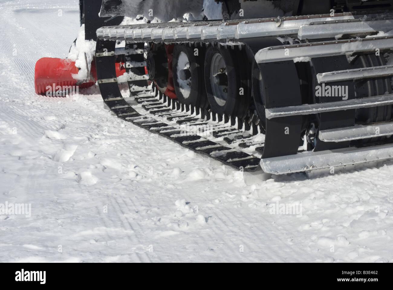 snowplow crawler - Stock Image