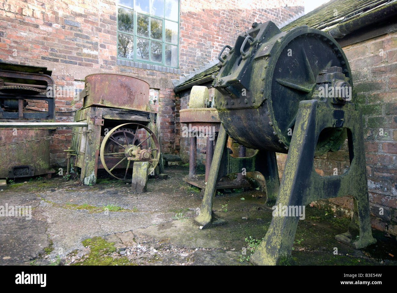 Cheddleton 'Flint Mill' in Staffordshire 'Great Britain' Industrial Heritage Trust - Stock Image