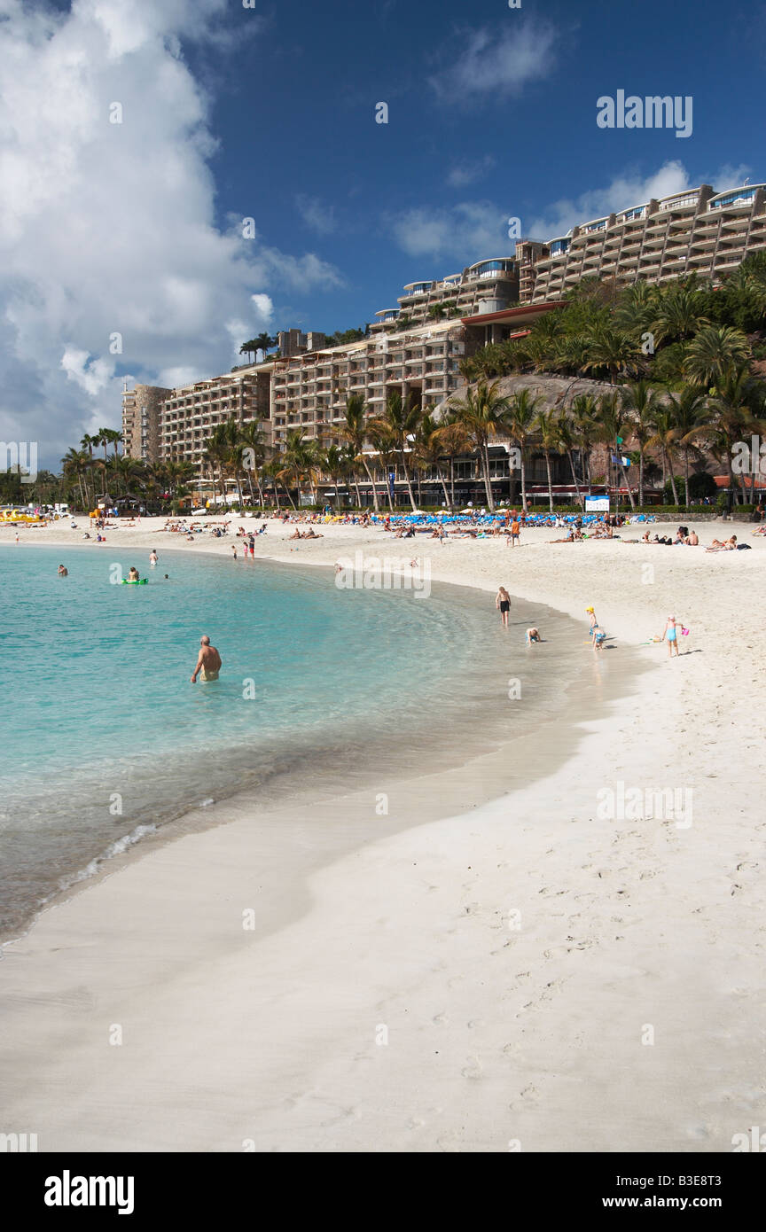 Anfi del Mar timeshare resort on Gran Canaria in the Canary islands. Stock Photo