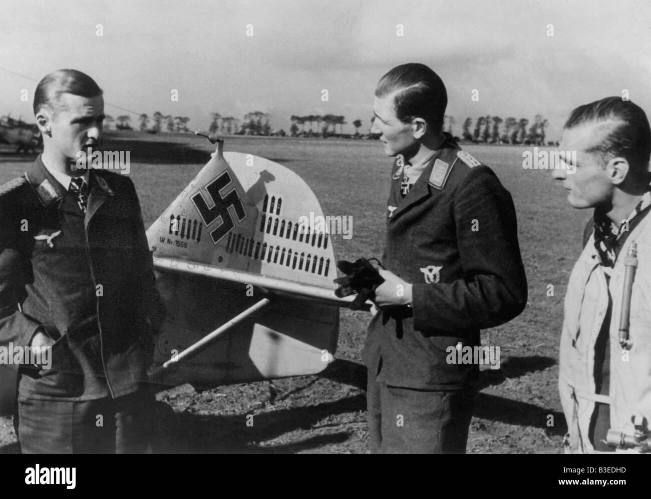 WWII / Aerial Warfare / L}tzow and Balth - Stock Image