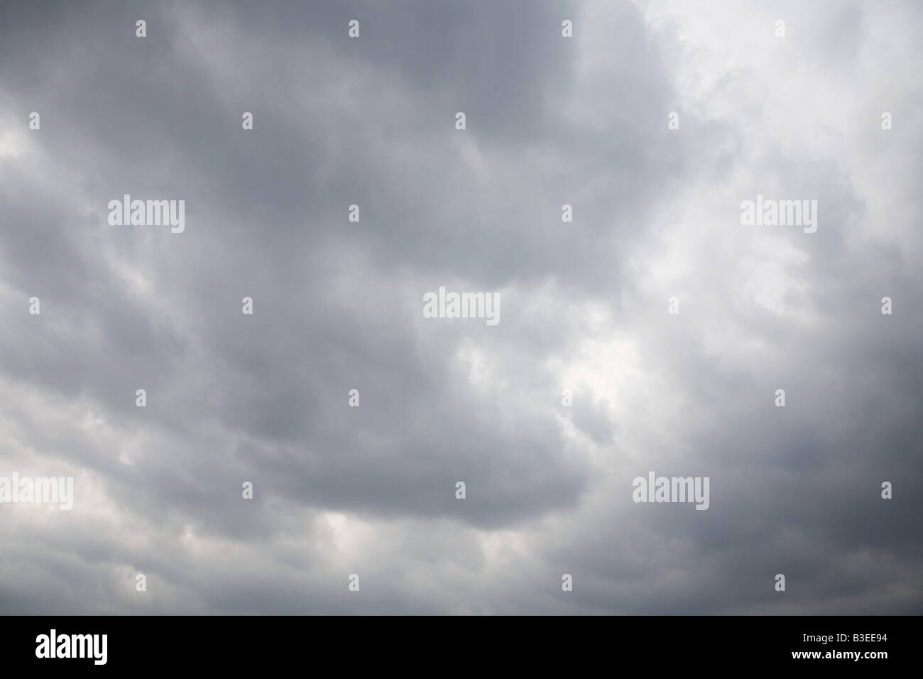 Full frame image of a cloudy sky - Stock Image