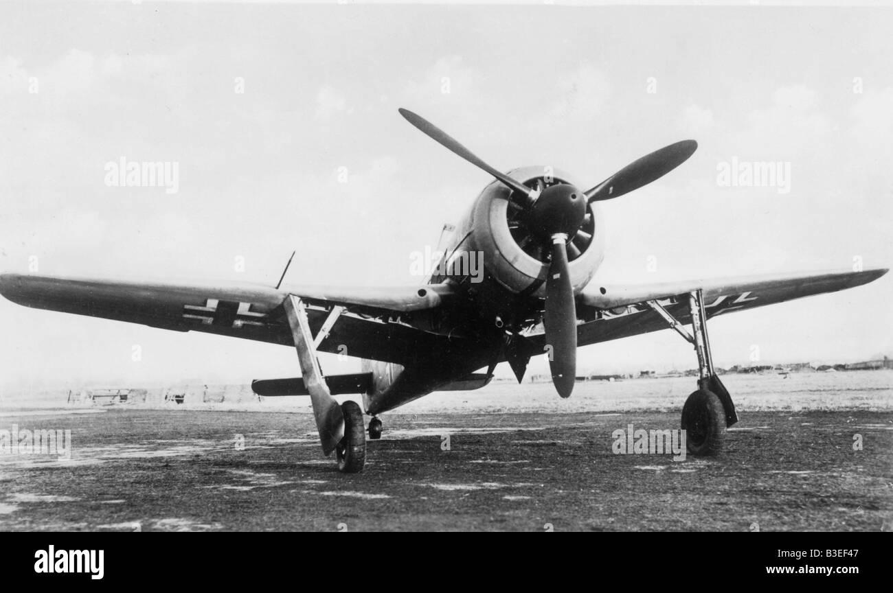 Focke-Wulf Jõger Fw 190 m - Stock Image