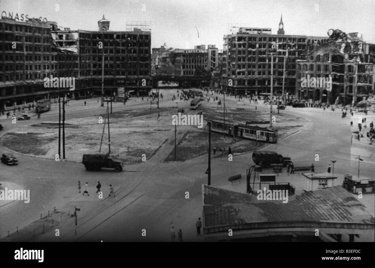 Berlin, Alexanderplatz / Photo 1946