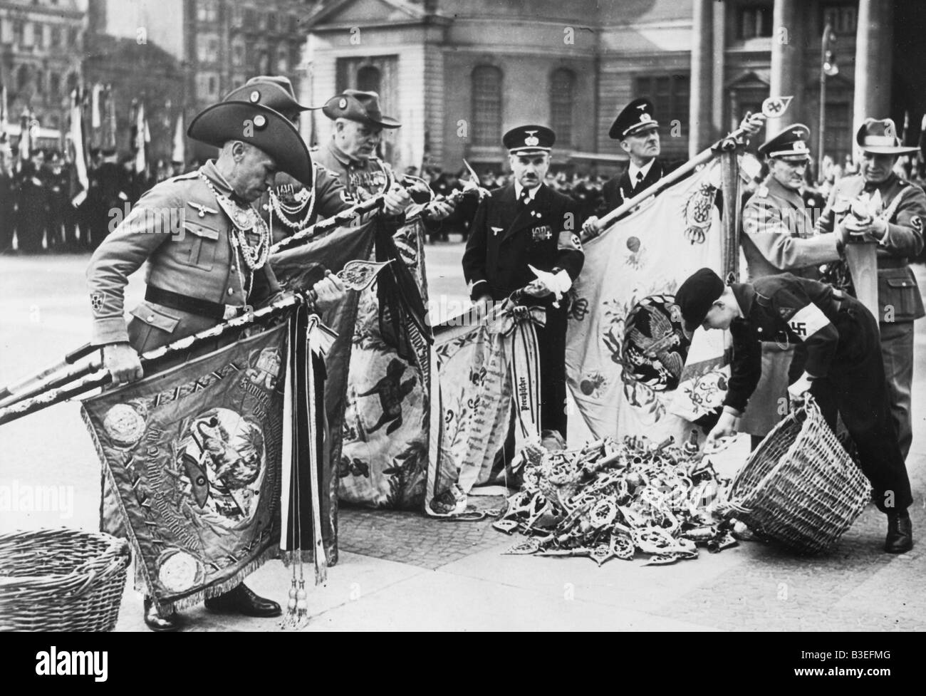 Metal donations / Berlin / 1940 - Stock Image