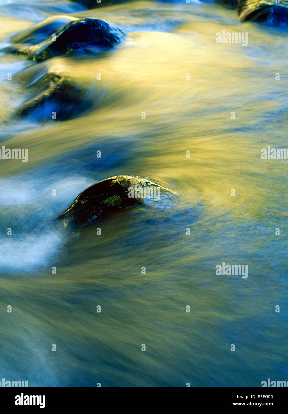 Water flowing - Stock Image