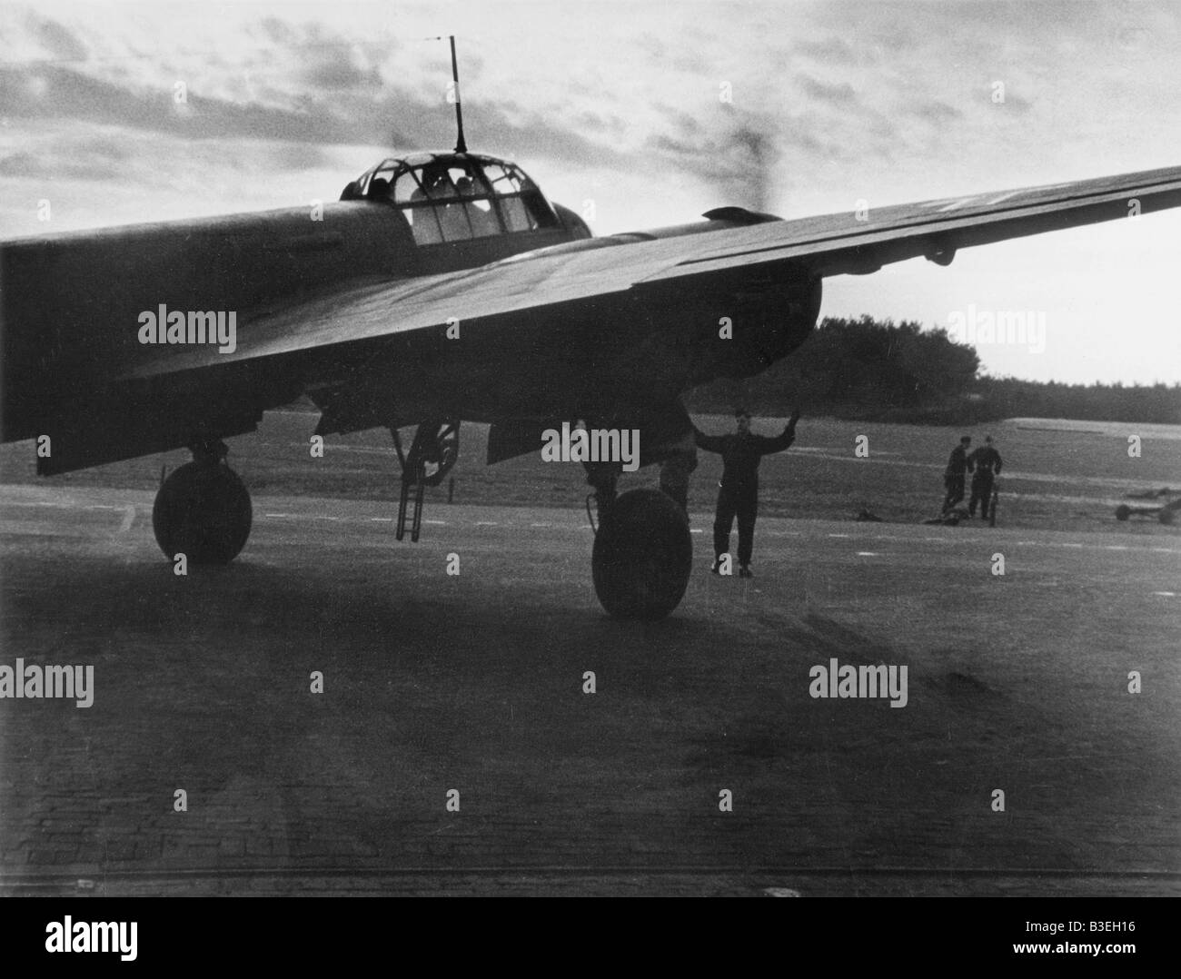 WW2, Aerial Warfare against England - Stock Image