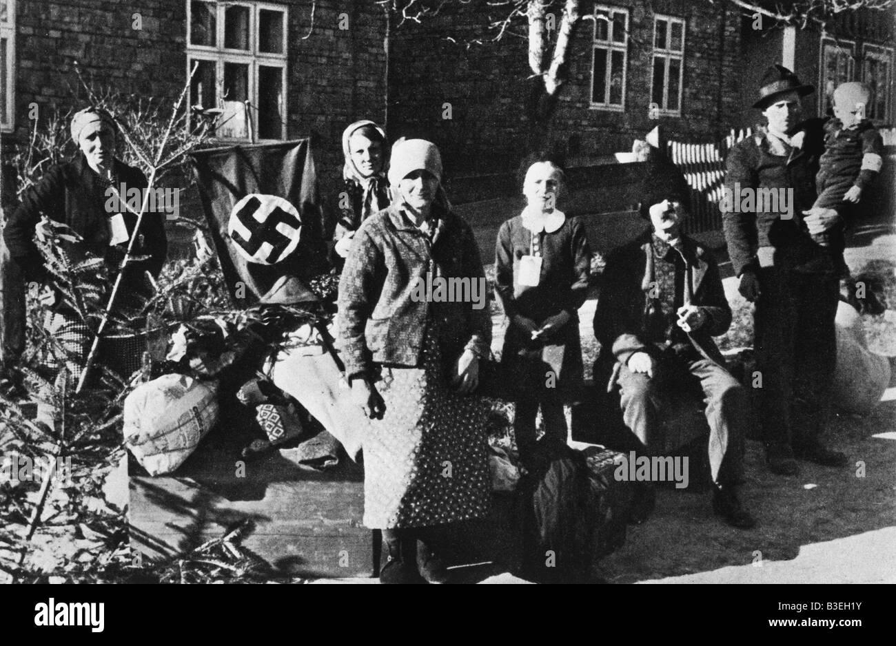 Family from Boucovina / October 1940 - Stock Image