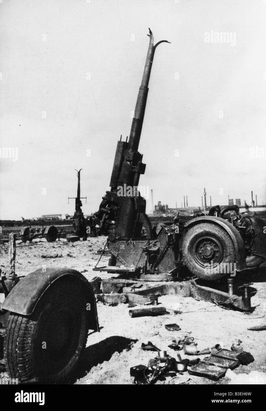 World War II/Western Offensive. - Stock Image