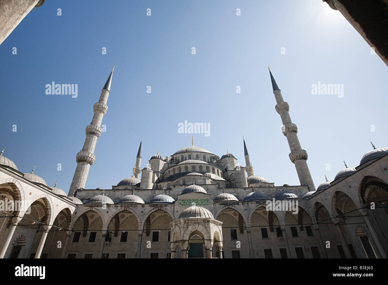 Blue mosque istanbul - Stock Image