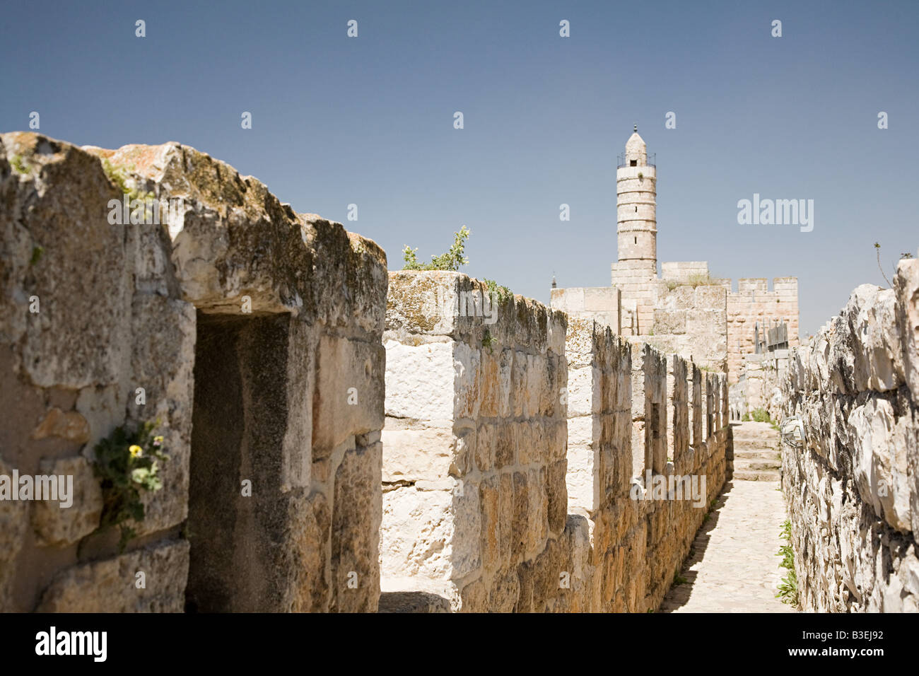 Tower of david - Stock Image