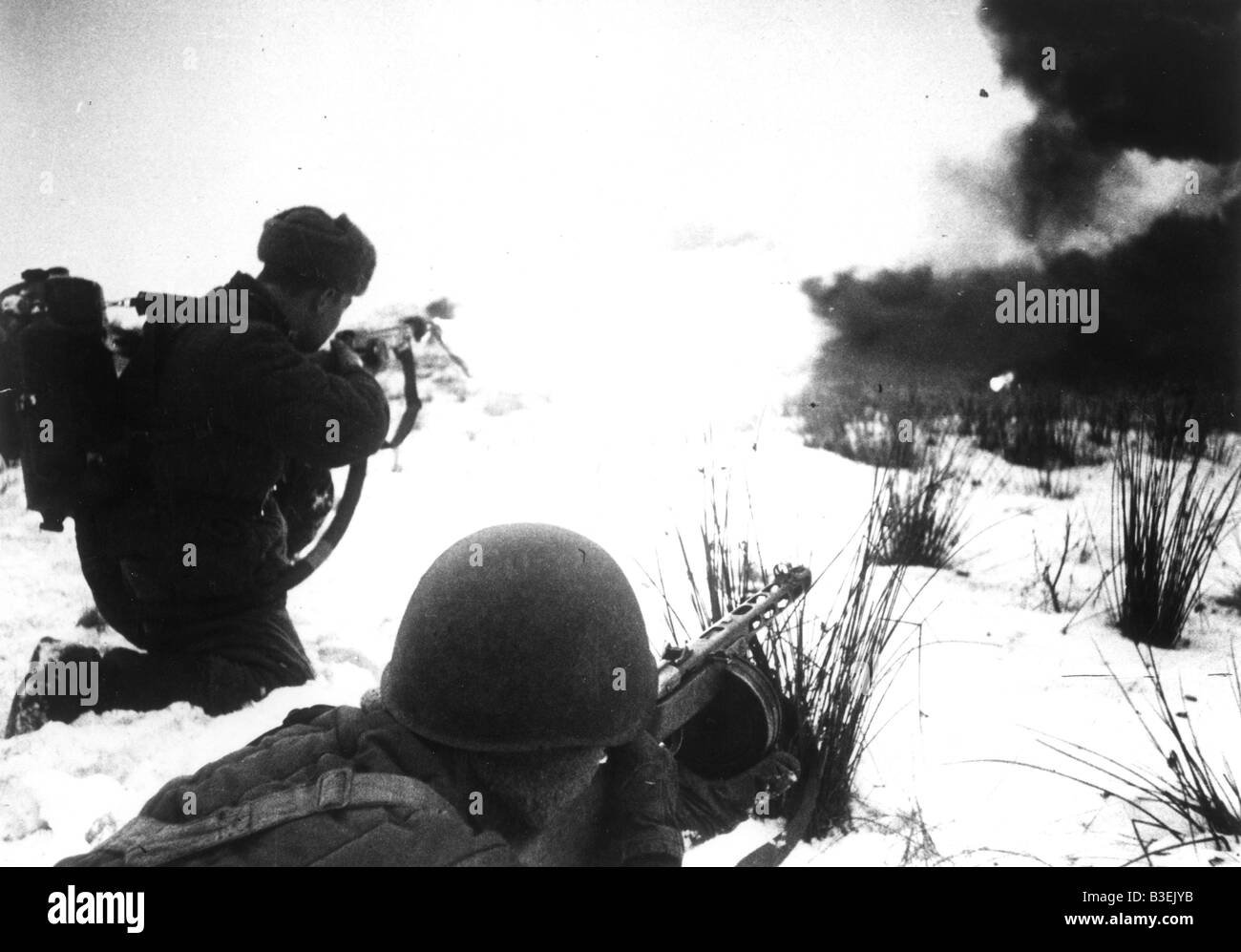 World War Two, Russian Campaign, 1941 - Stock Image