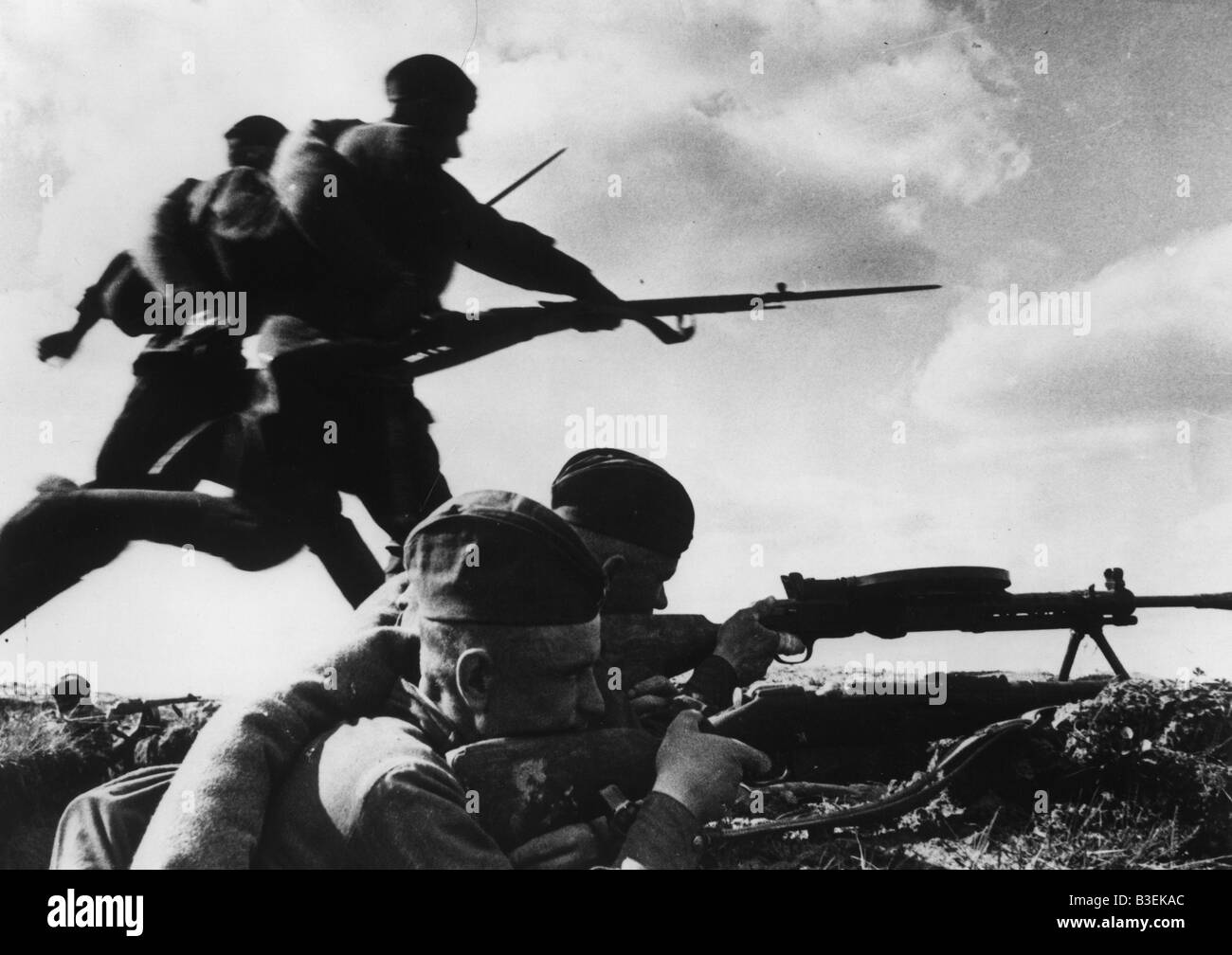 World War Two / Russia / August 1941 - Stock Image