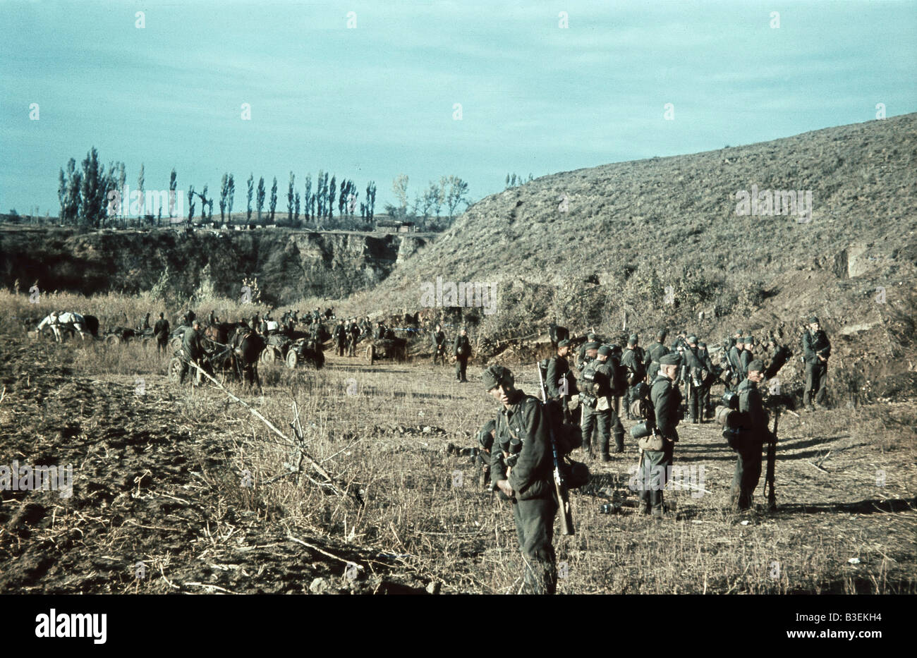 World War II/Stalingrad. - Stock Image