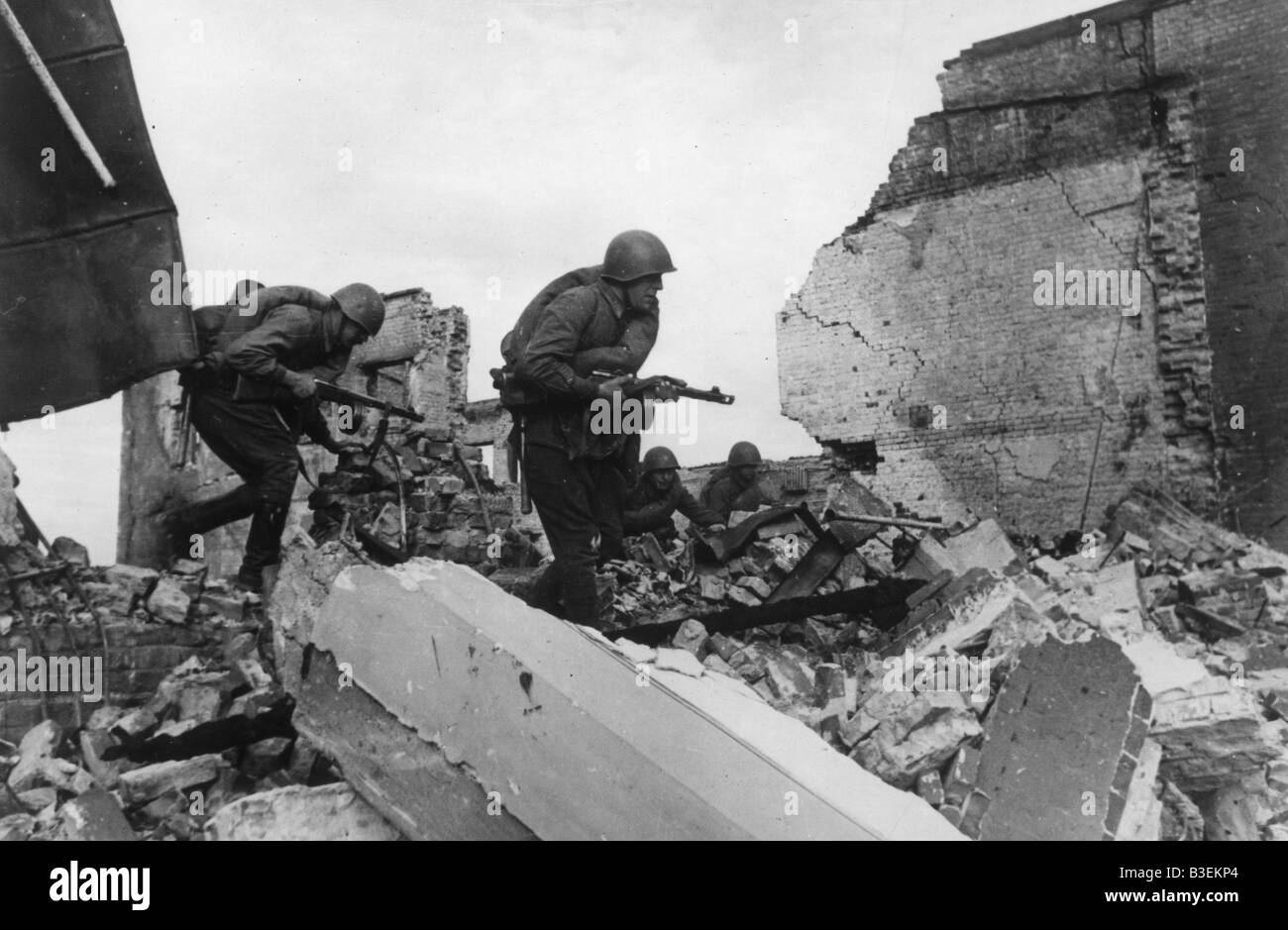 World War Two, Stalingrad/November 1942 - Stock Image