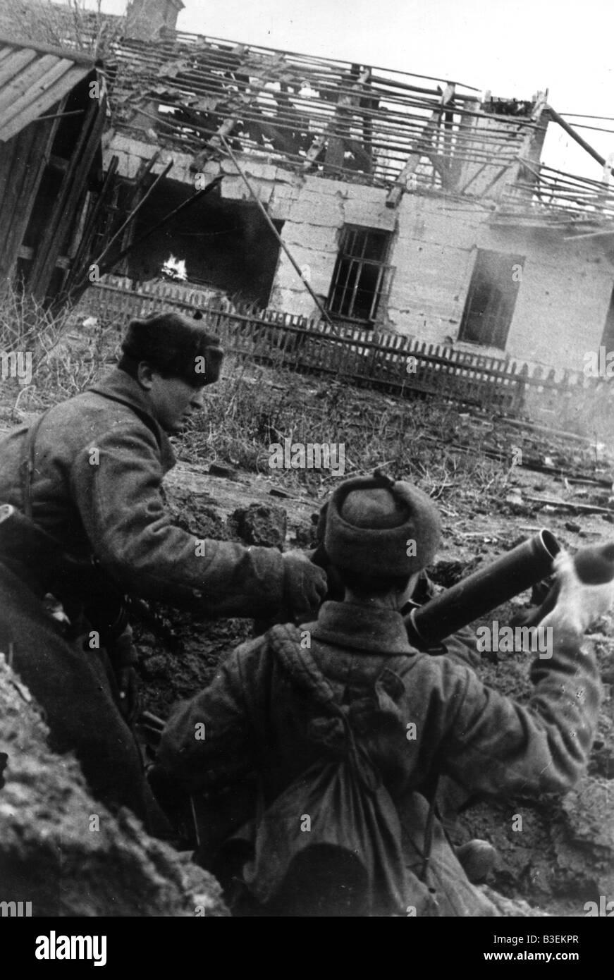 World War Two / Stalingrad / 1942 - Stock Image