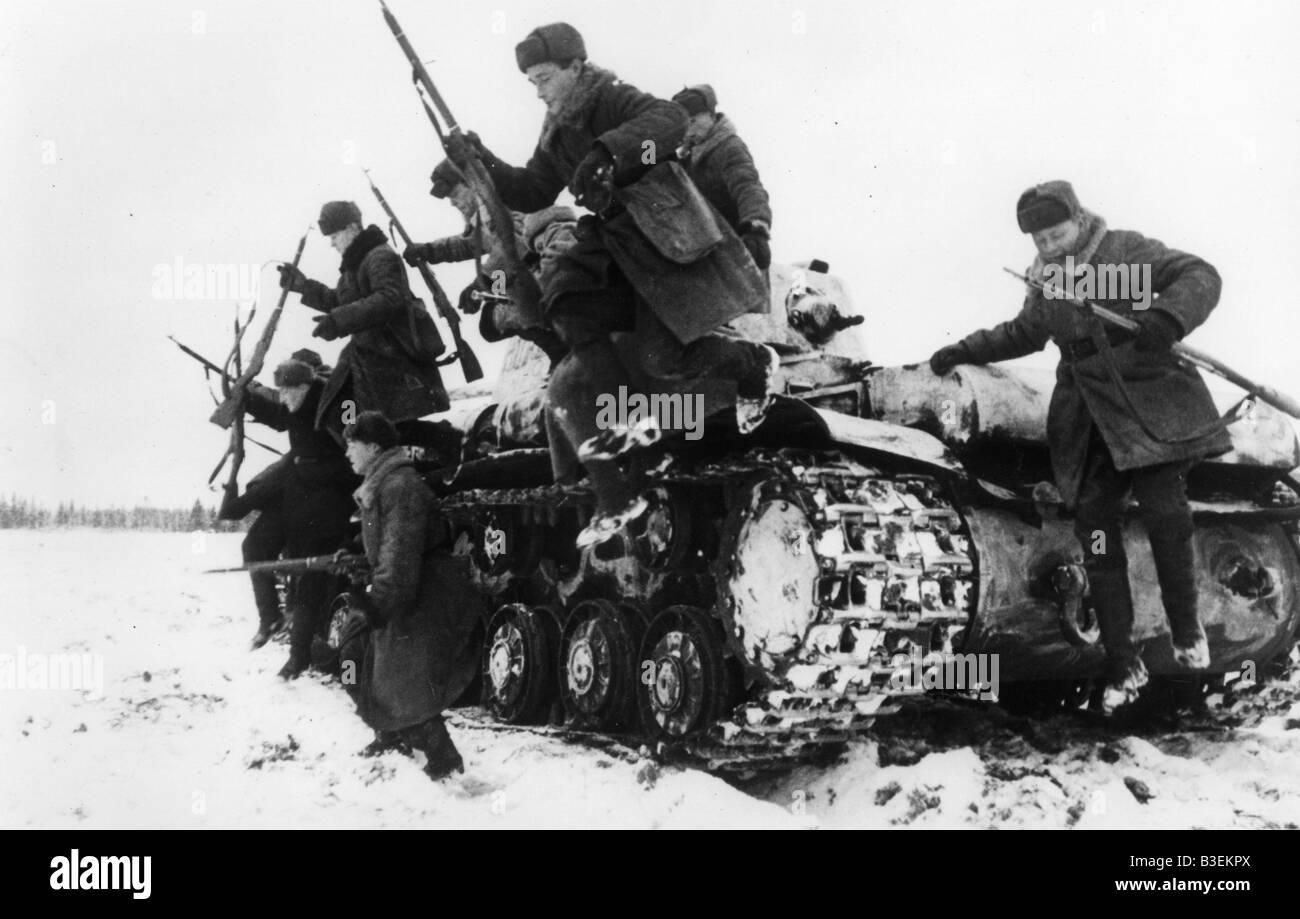 World War II / Russian campaign / 1942 - Stock Image