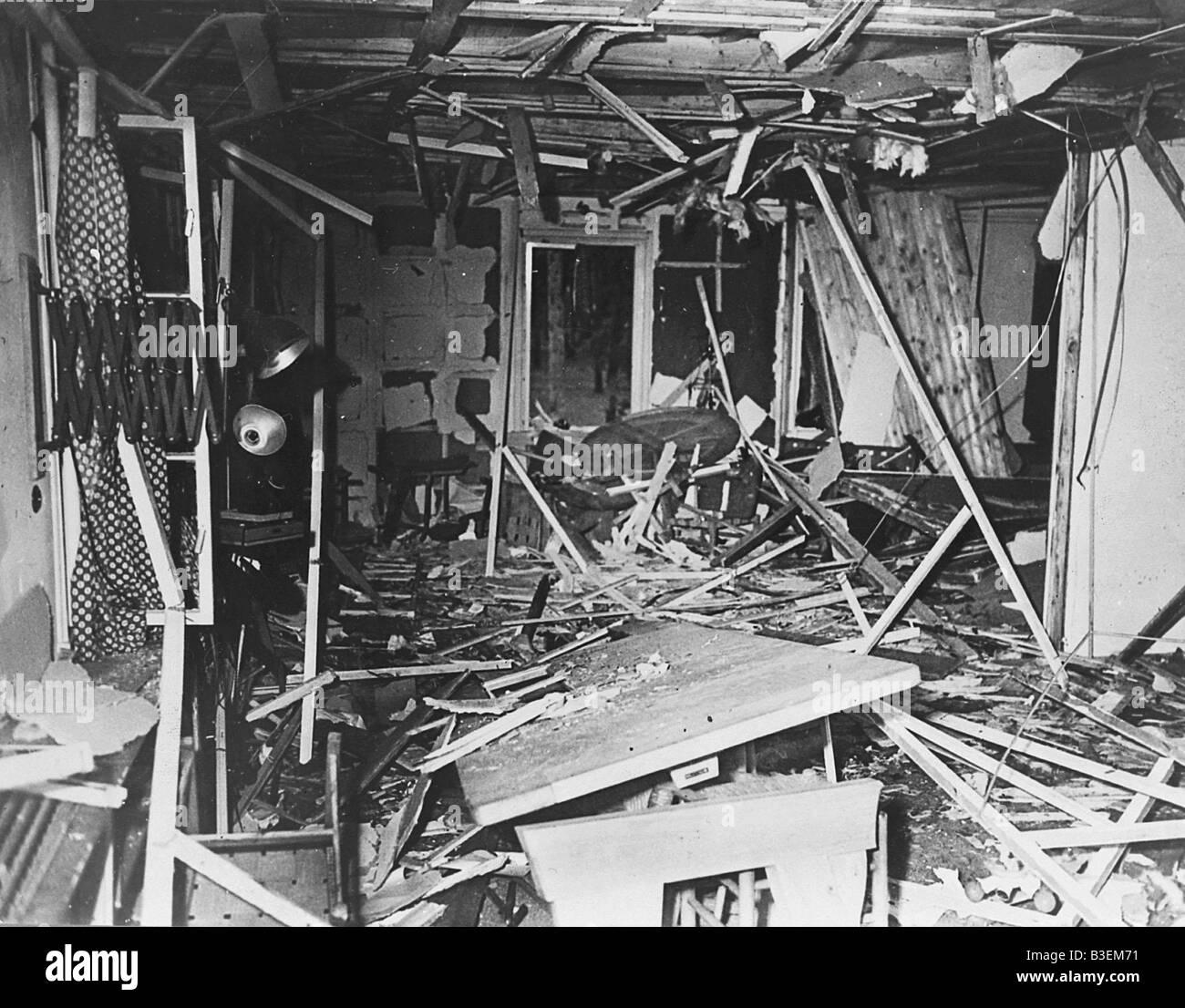 Assassination / 20.7.44 / photo - Stock Image