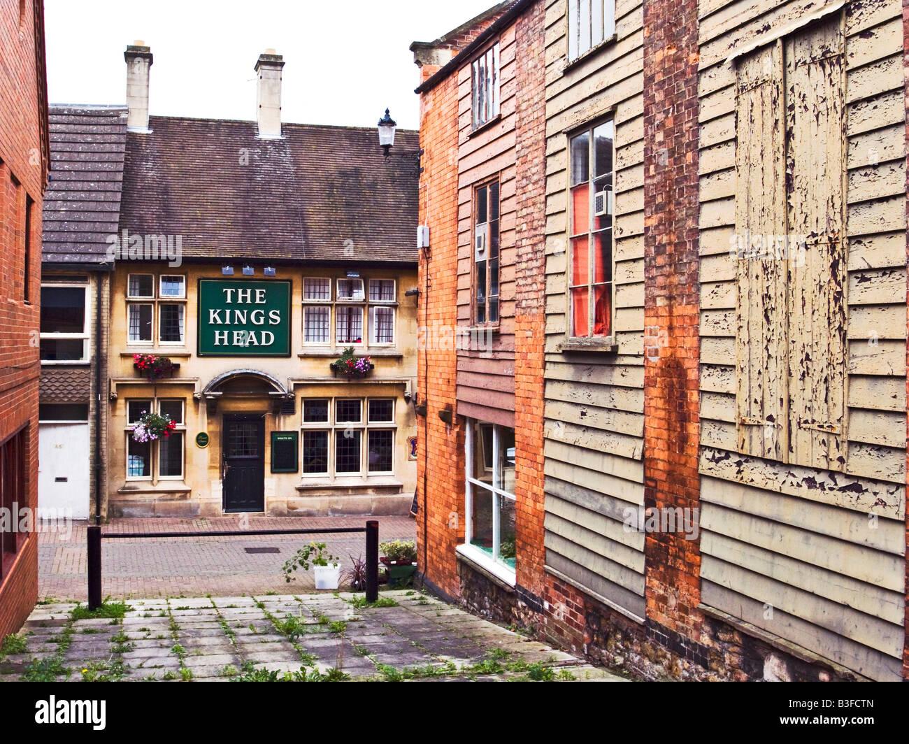 Architecture styles in Dursley Gloucestershire England UK EU - Stock Image