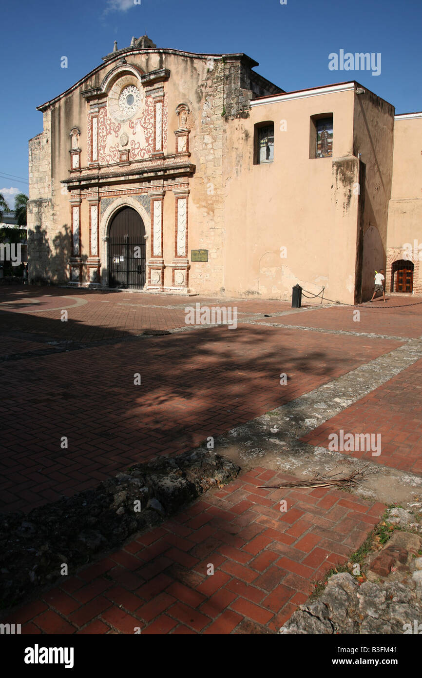 Convento de los Dominicos in the Zona Colonial of Santo Domingo, Dominican Republic Stock Photo