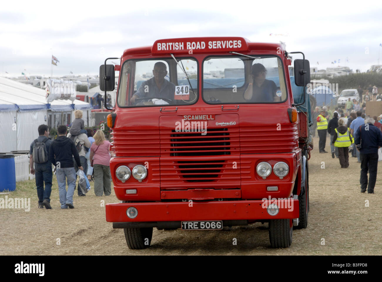1960s Lorry Stock Photos Images Alamy 19601970 Mercedes Benz Trucks British Road Services Scammell Truck At The Great Dorset Steam Fair Image