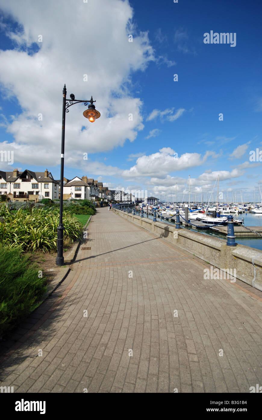 Marina Village, Malahide, Co Dublin, Ireland - Stock Image