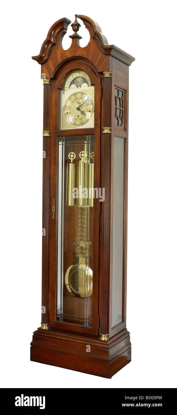 Grandfather clock - Stock Image