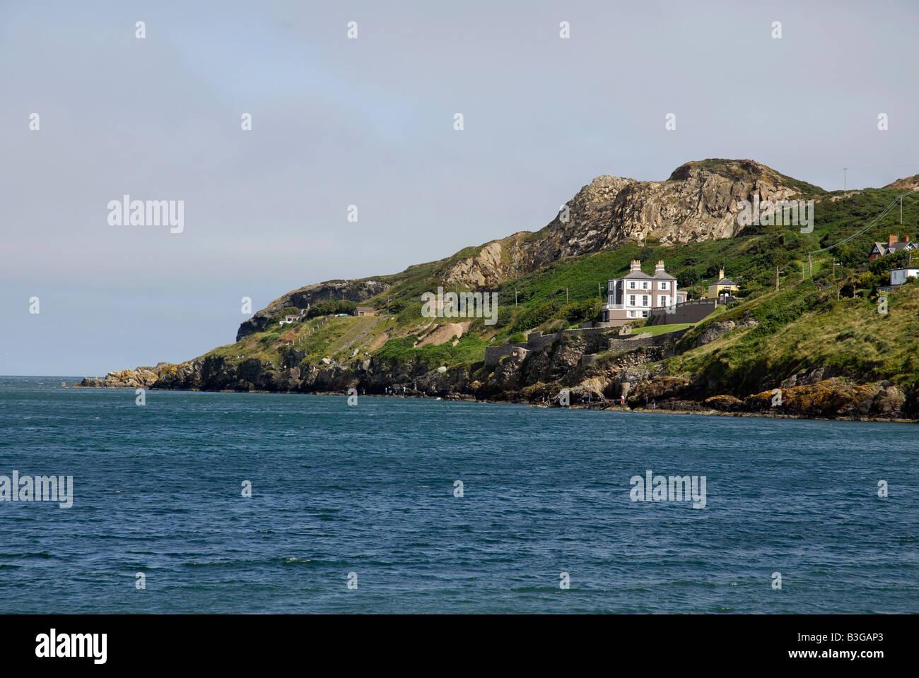 Howth Irish sea Co Dublin Ireland - Stock Image