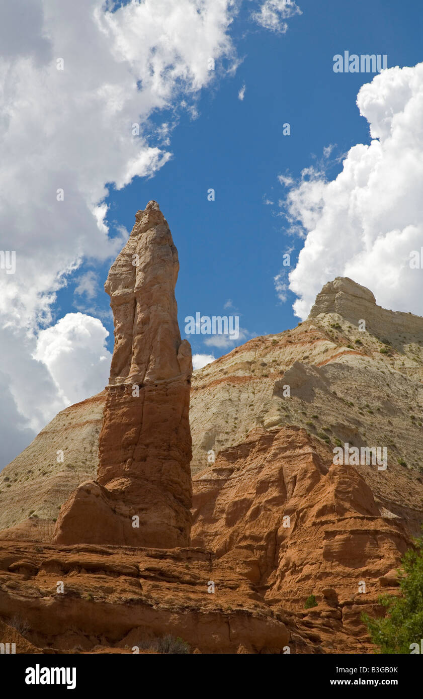 Cannonville Utah A sandstone spire in Kodachrome Basin State Park - Stock Image