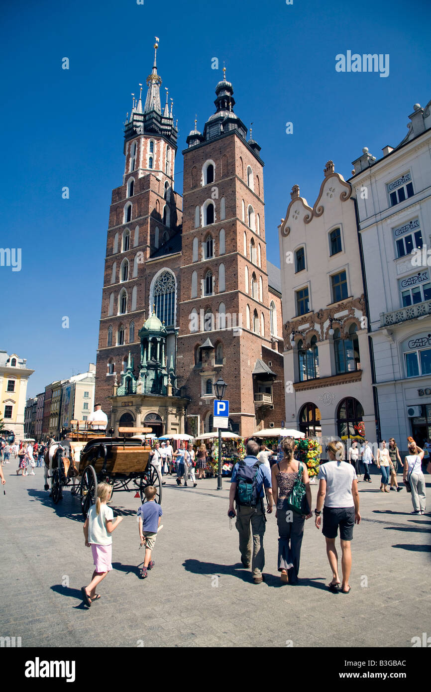 Cracow Krakow  Poland Stock Photo