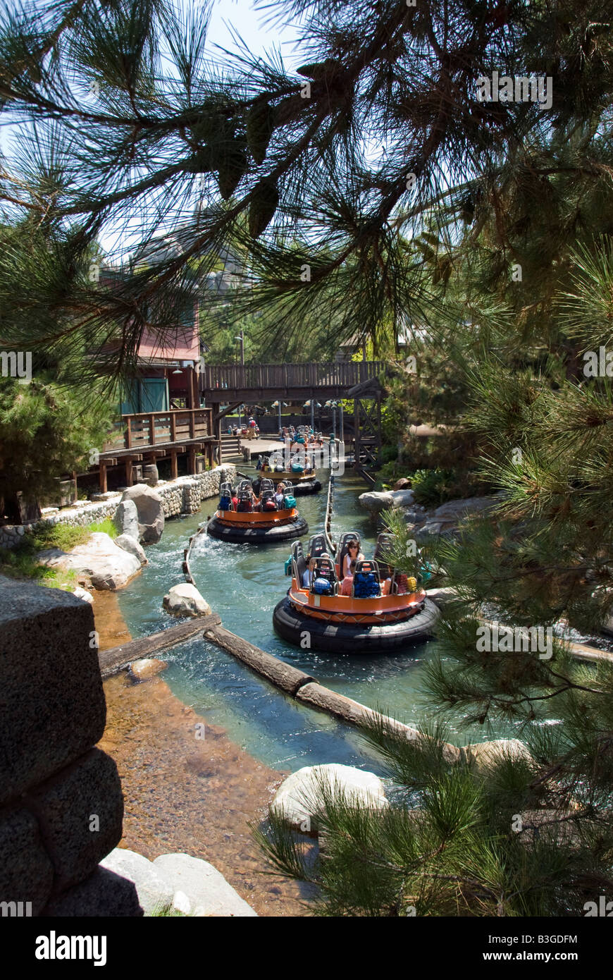 Disneyland Resort Anaheim California Entertainment Grizzly River