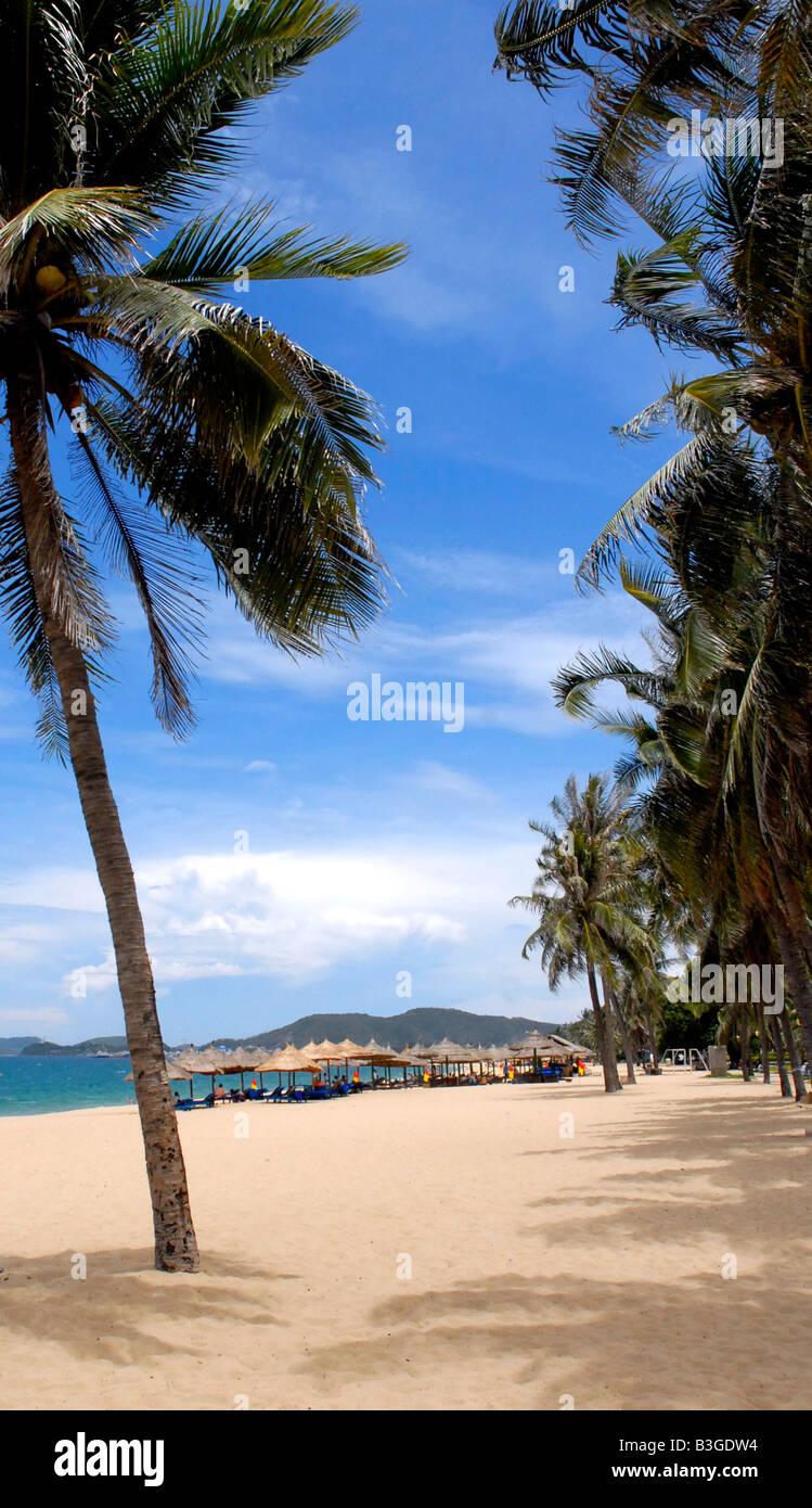 Nha Trang beach, Vietnam - Stock Image