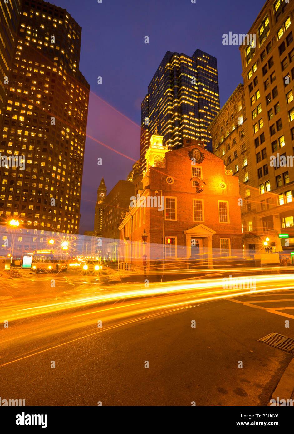 Boston, Massachusetts, Old State House - Stock Image