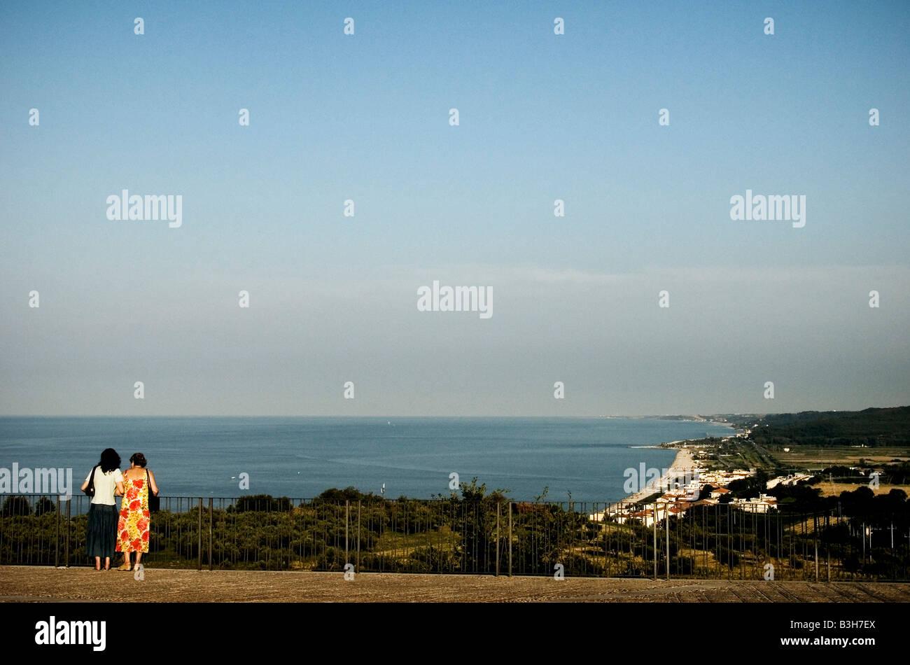 Italy, Abruzzo. Adriatic sea. San Vito. 2008 - Stock Image