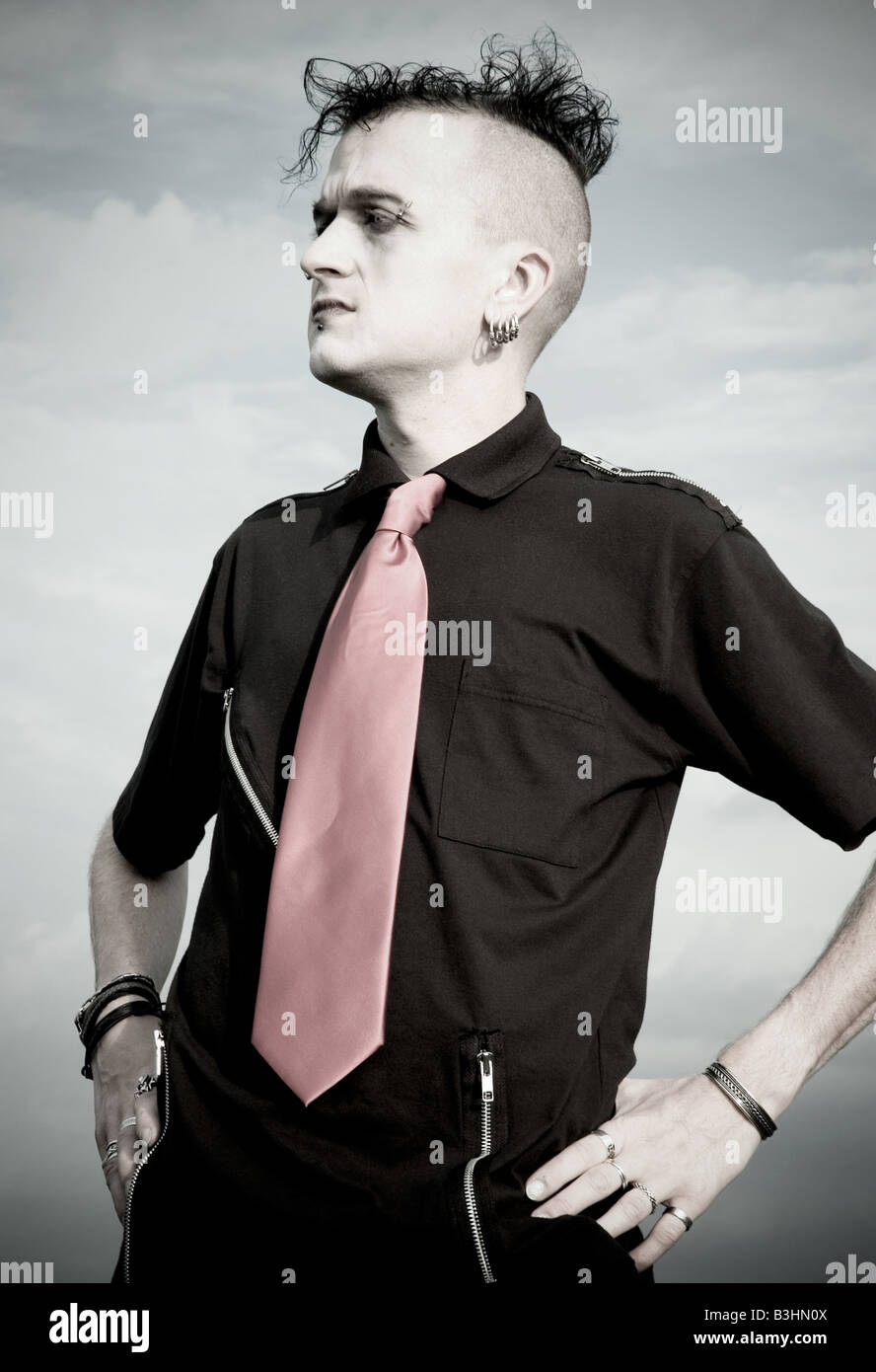 Male Goth High Resolution Stock Photography And Images Alamy