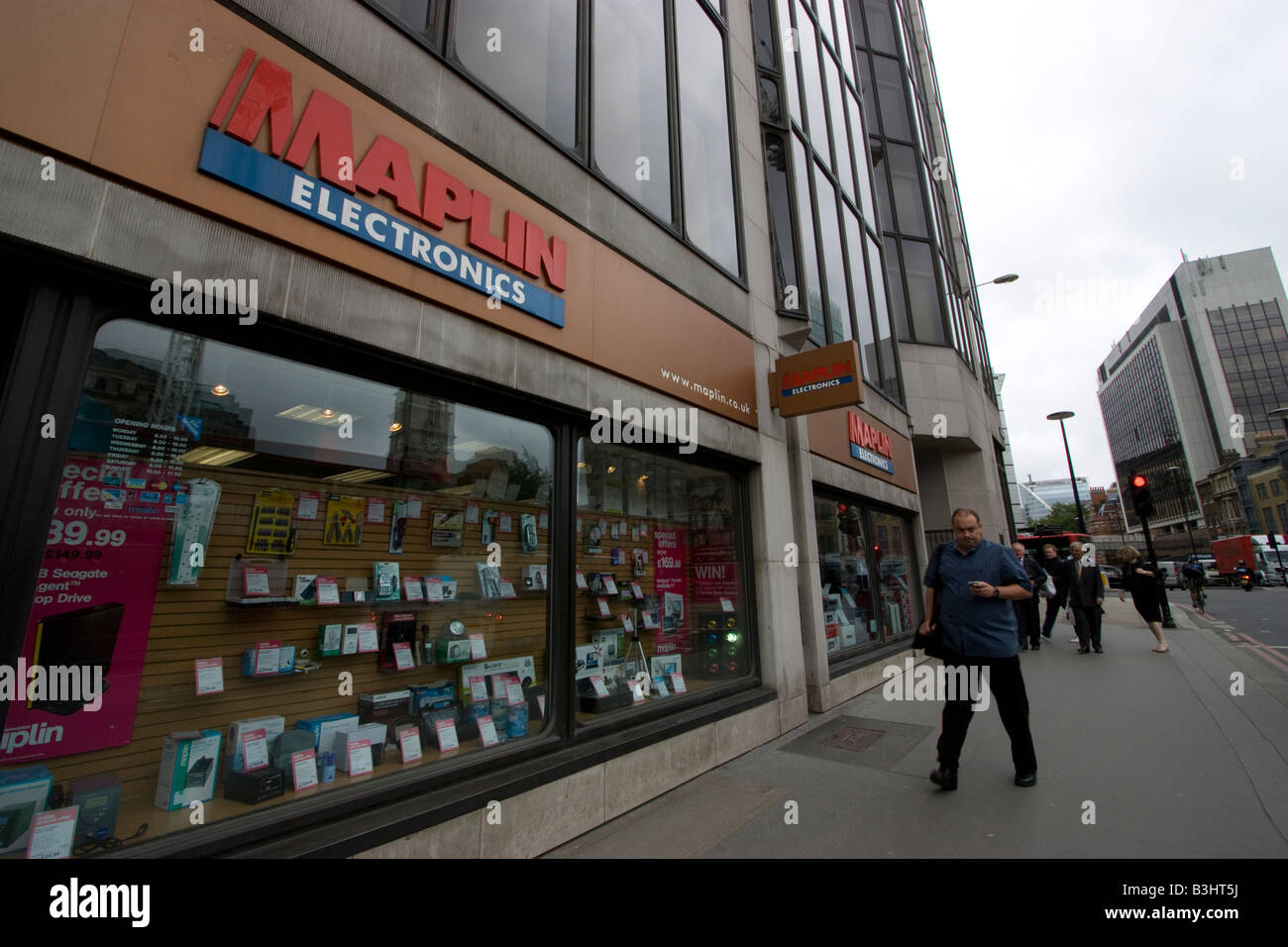 maplins electronics store central london - Stock Image