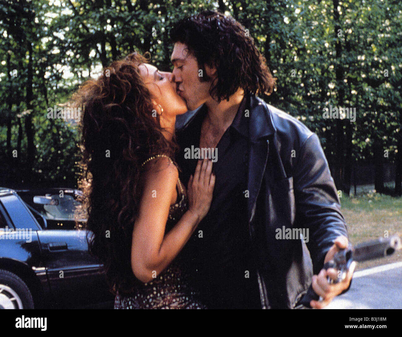 DOBERMANN  1997 PolyGram film with Vincent Cassel and Monica Belluci - Stock Image