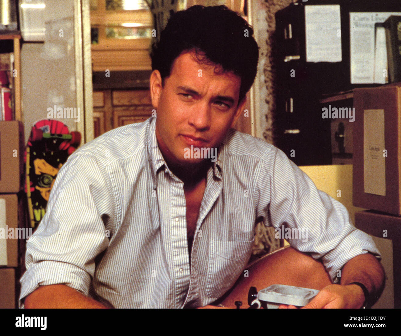 THE BURBS 1988 UIP film with Tom Hanks - Stock Image