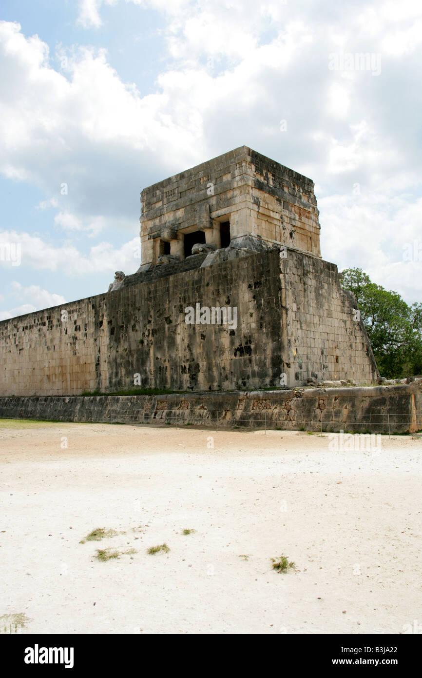 Great Ballcourt, Juego Pelota, Chichen Itza, Yucatan Peninsular, Mexico Stock Photo