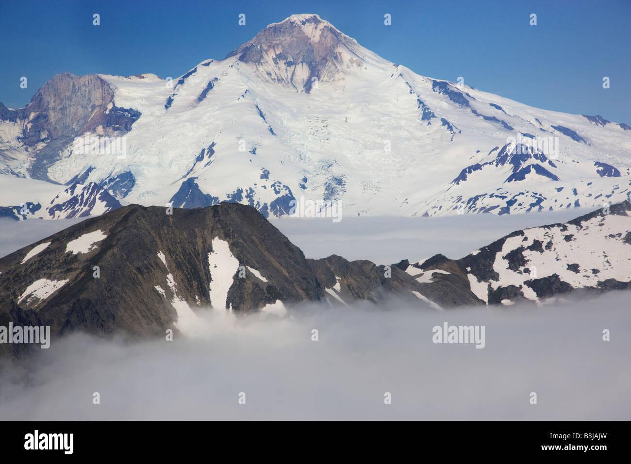 Lake Clark National Park Alaska - Stock Image