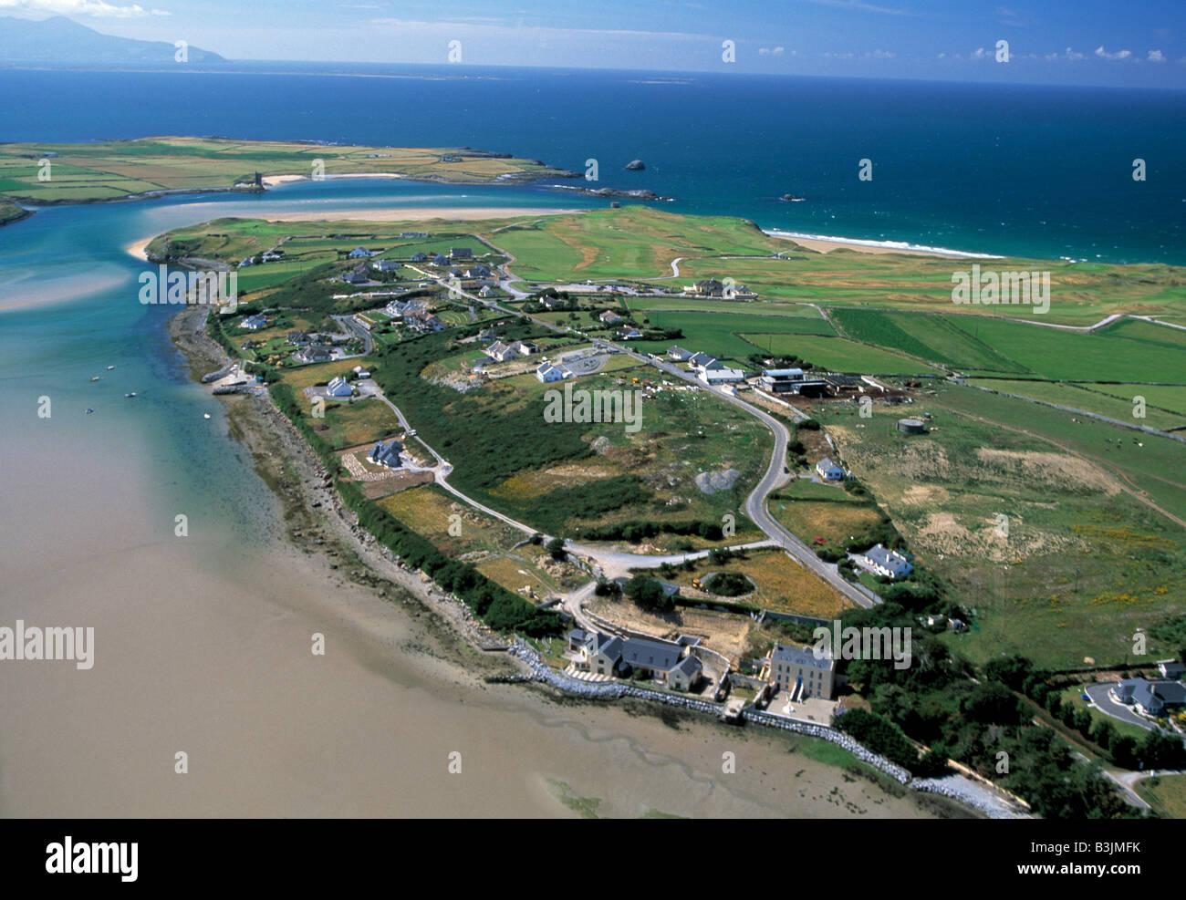 ireland, county kerry, tralee, barrow, atlantic coast of ireland, wild atlantic way, beauty in nature, - Stock Image