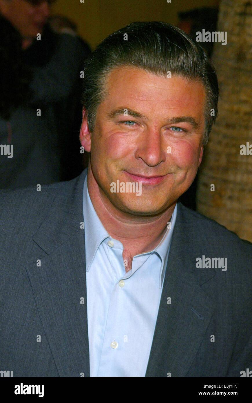 ALEC BALDWIN  US film actor in 2003 - Stock Image