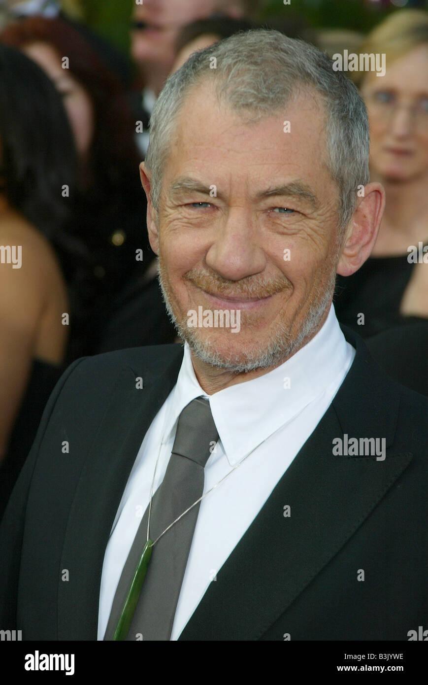 IAN McKELLEN  UK film and stage actor in 2005 - Stock Image